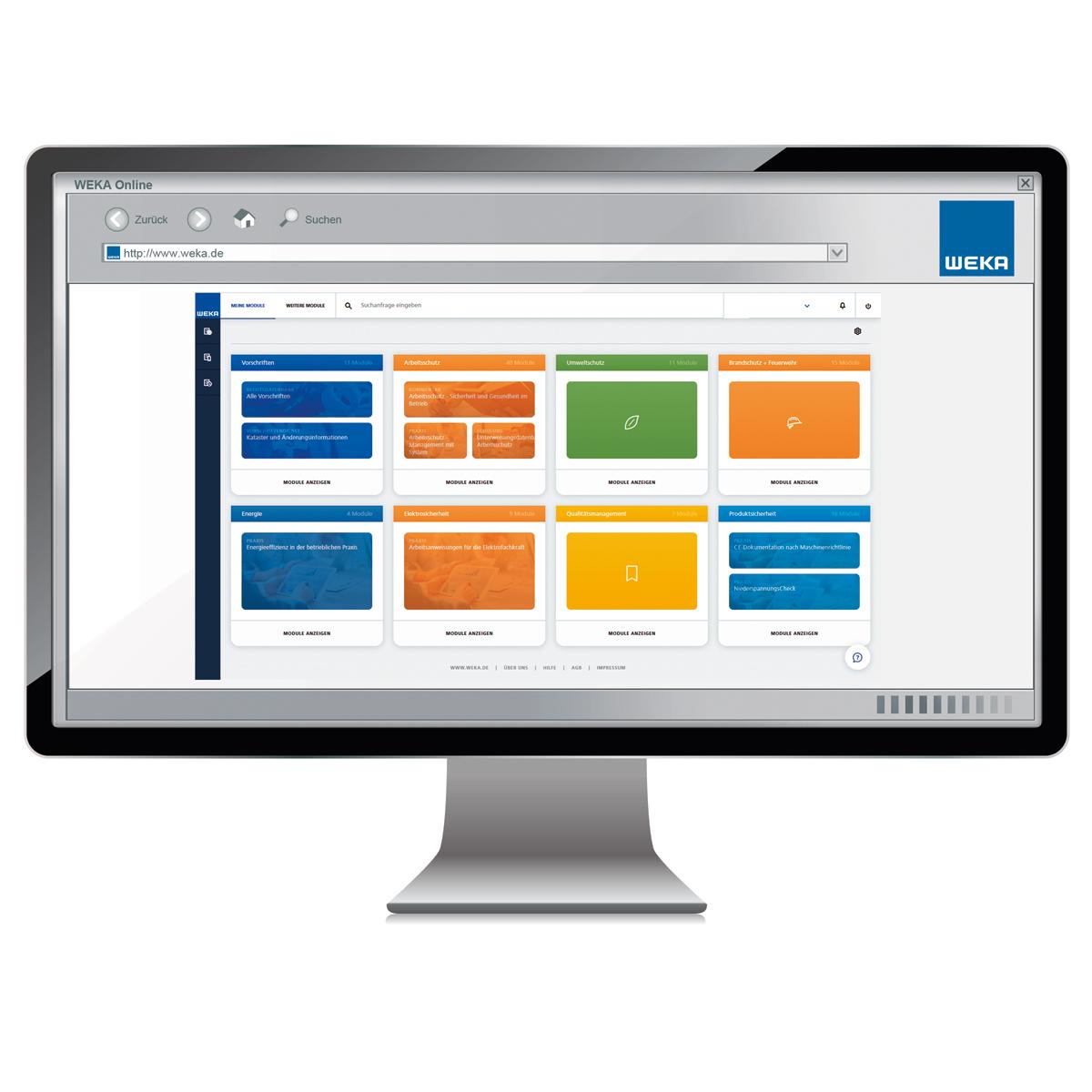 business portal weka